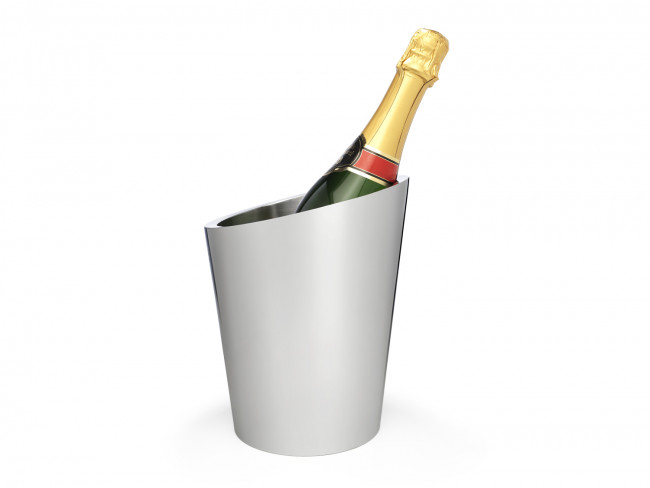 Champagnekoeler dubbelwandig rvs