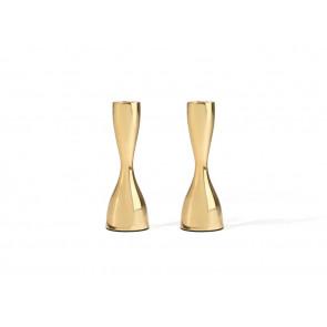 Kandelaar Sophia 60x175mm s/2 goudkleurig