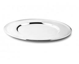 Onderbord Filetrand, zilver kleur